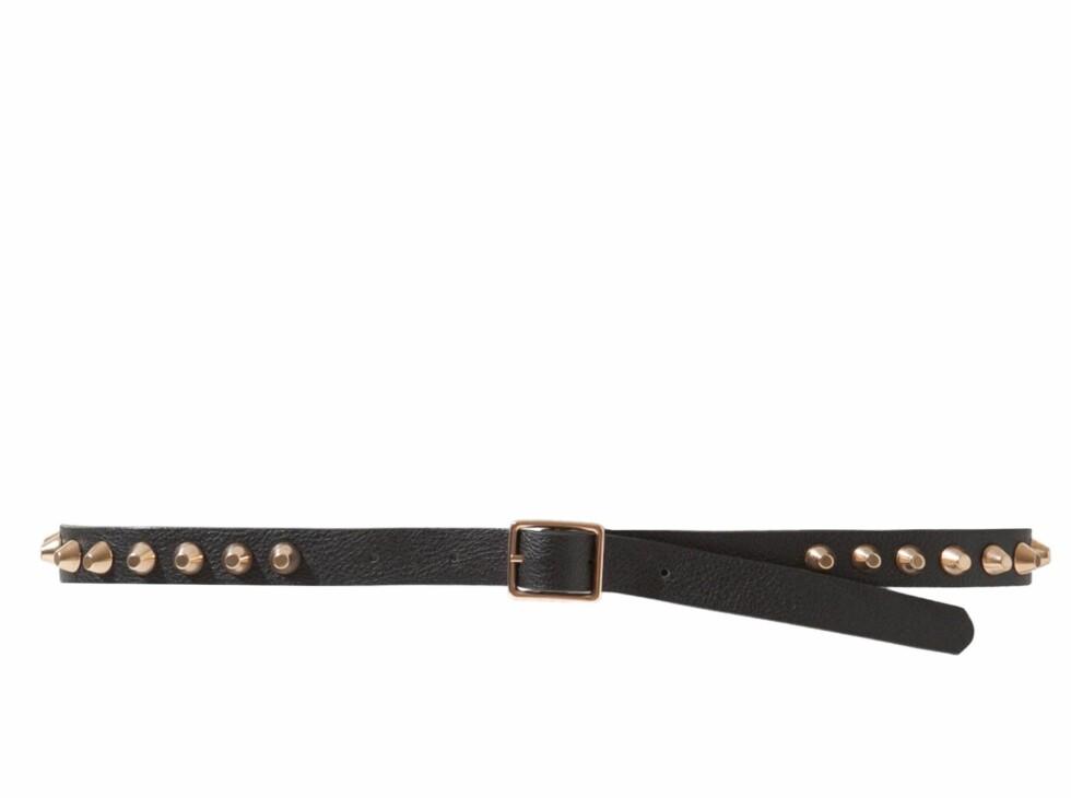 Belte (kr 180, Zara). Foto: Produsenten