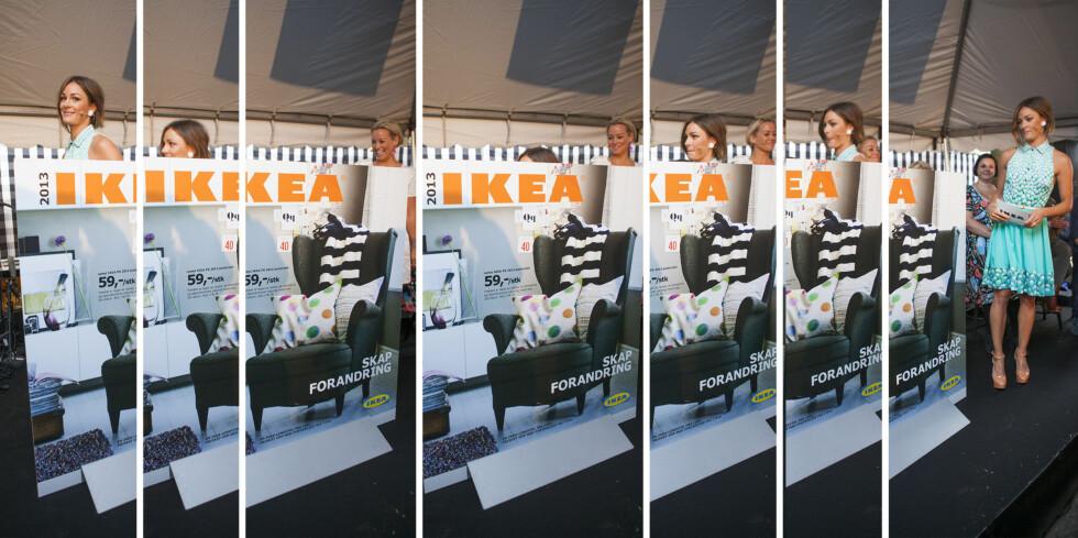 """TULLER: Ikea tar en liten tur ned """"trappen"""" bak Ikea-katalogen.  Foto: Per Ervland"""