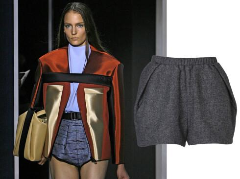 BALENCIAGA: Disse shortsene kommer fra Vero Moda, og koster 400kr. Foto: All Over Press og produsenten