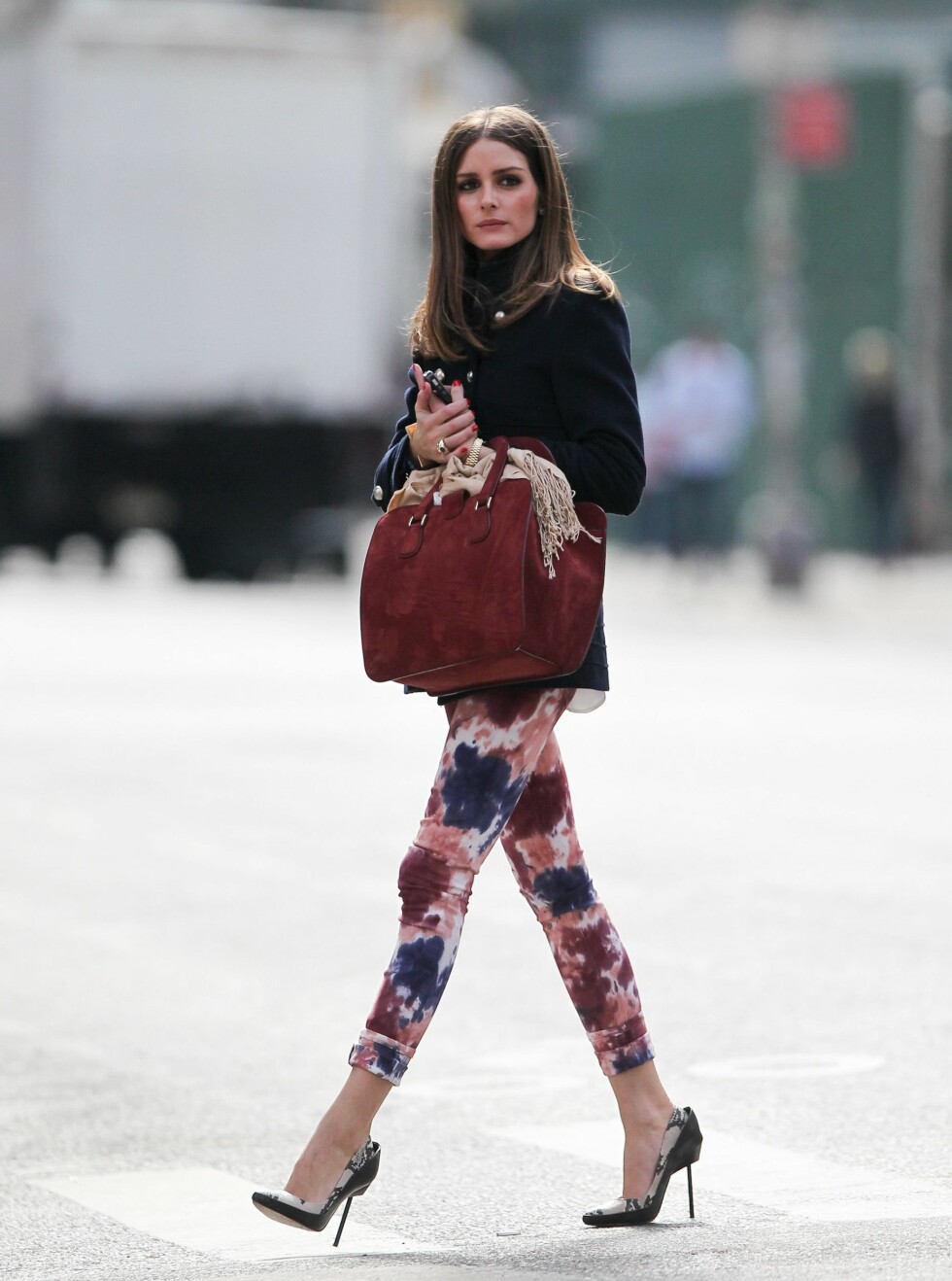 EXCLUSIVE: Olivia Palermo seen out and about in New York City, NY.  Pictured: Olivia Palermo Ref: SPL370490  120312   EXCLUSIVE Picture by: Splash News  Splash News and Pictures Los Angeles:310-821-2666 New York:212-619-2666 London:870-934-2666 photodesk@splashnews.com  *** Local Caption *** NO AUSTRALIA, CHINA, FRANCE, HONG KONG, INDONESIA, NEW ZEALAND, PHILIPPINES, TAIWAN Foto: All Over Press