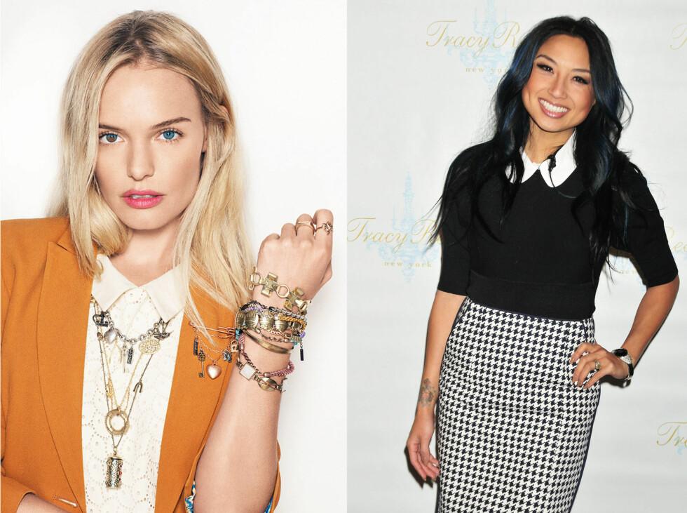KJENDIS-STIL: Se og lær av Kate Bosworth og Jeannie Mai. Foto: All Over Press
