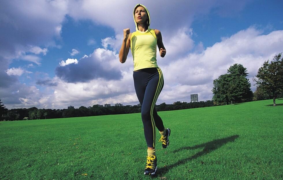 FORLENGER LIVET: Kun 15 minutter med moderat fysisk aktivitet hver dag (som for eksempel løping, gåing, sykling) kan forlenge livet med opptil tre år, viser ny forskning.