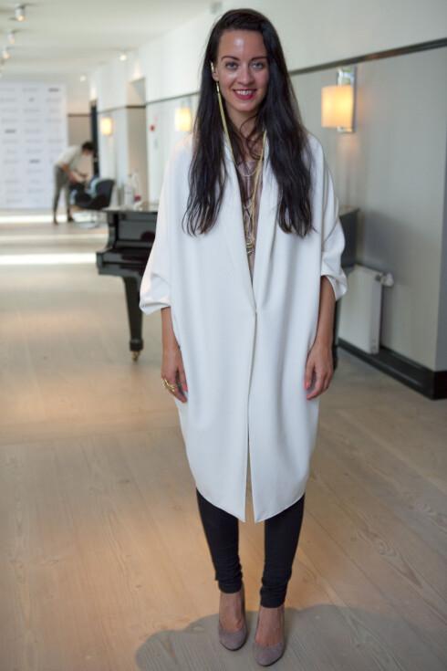 STOR SUKSESS: Veronica B. Vallenes har vunnet flere designerpriser og er allerede svært anerkjent i Danmark. Foto: Per Ervland