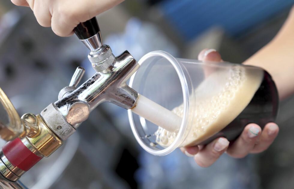 MER JERN: Ny forskning viser at mørkt øl inneholder mer jern enn lyst eller alkoholfritt øl.  Foto: Thinkstock