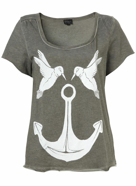 Det er denne også, med maritimt tema og fugler (ca kr.160/Topshop.com). Foto: Produsentene