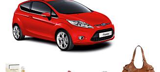 Vinn roadtrip i splitter ny Ford Fiesta!