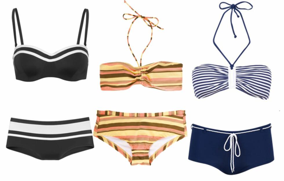 TRUSER SOM SITTER: Bikinier med gode truser er en fordel. Få info om priser og se flere bikinier i bildeviseren under. Foto: Produsentene