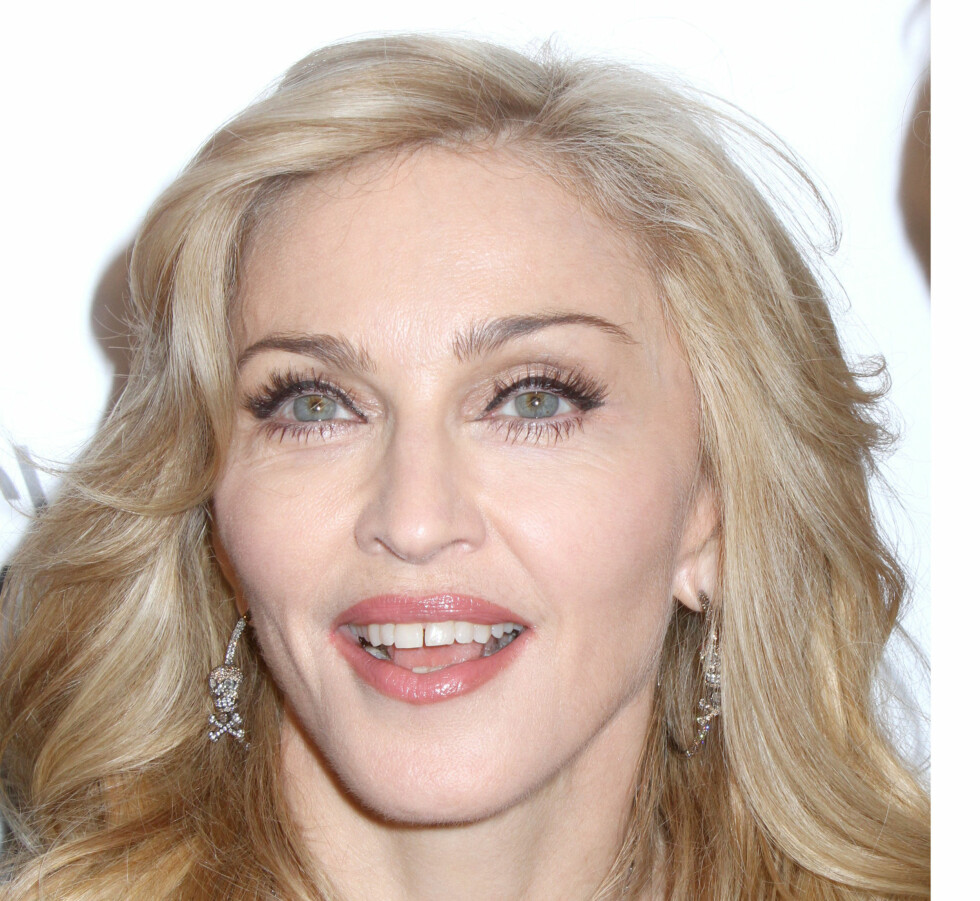 Mandatory Credit: Photo by Greg Allen / Rex Features (1691485c) Madonna Truth Or Dare By Madonna fragrance launch, New York, America - 12 Apr 2012   / ALL OVER PRESS / ALL OVER PRESS Foto: All Over Press