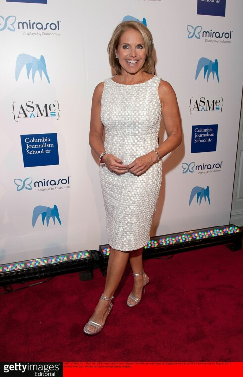 <strong>KATIE:</strong> Katie Couric (54) er en av de mest kjente ankerkvinnene i USA.  Foto: all over press
