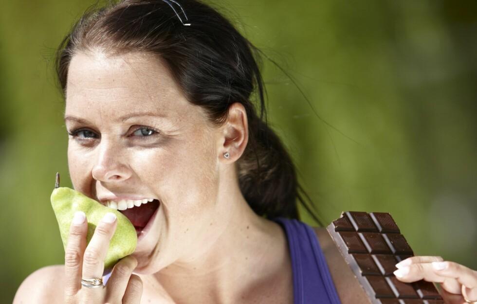 SUNT OG GODT: Er du småsulten og mangler energi? Prøv ett av snackstipsene nevnt lenger nede i saken.