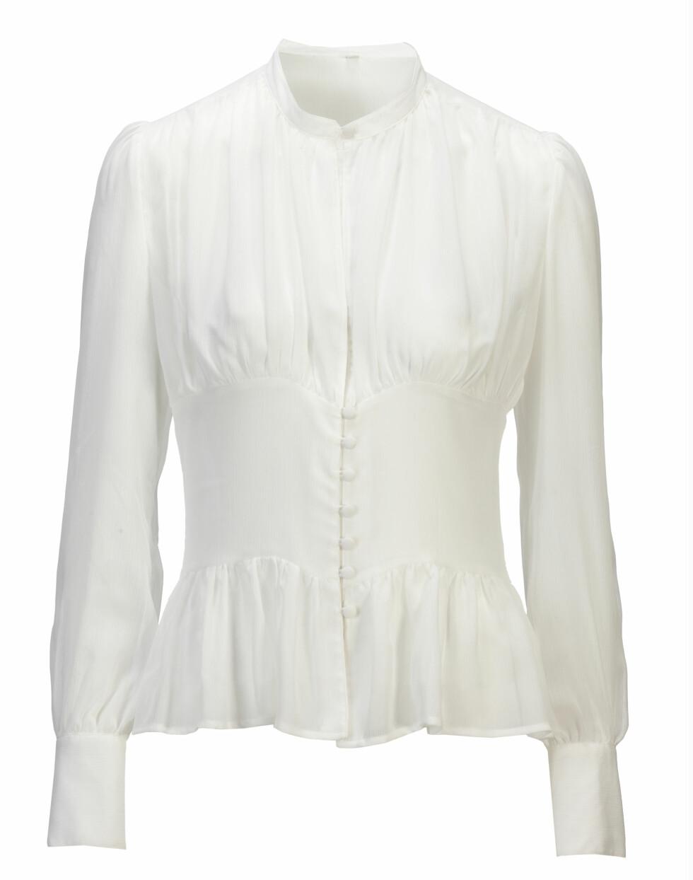 Feminin bluse (kr.299). Foto: Produsenten