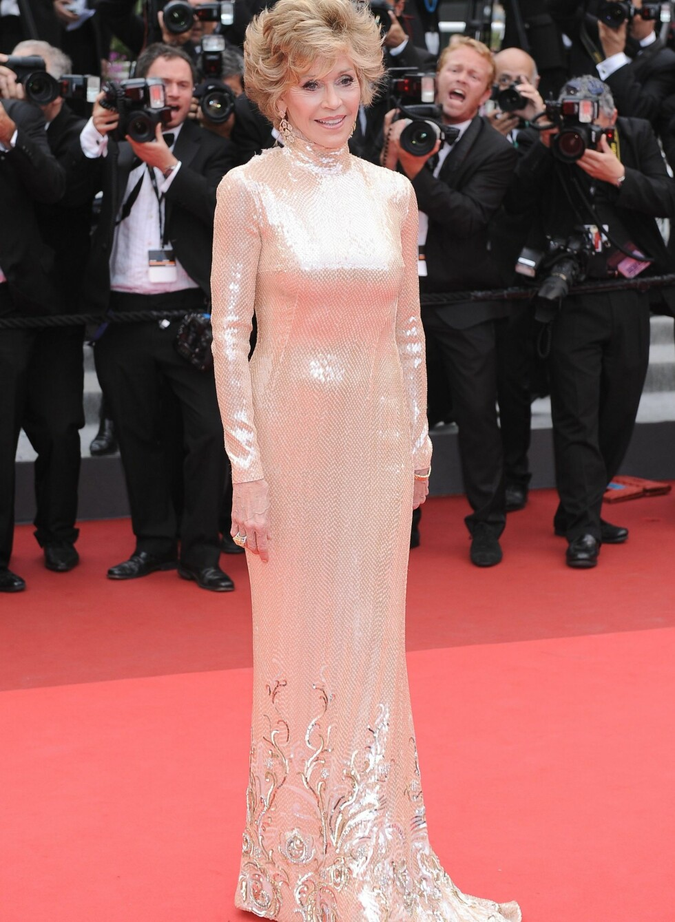 Jane Fonda også i Pucci på premieren av Closing Ceremony. Foto: All Over Press