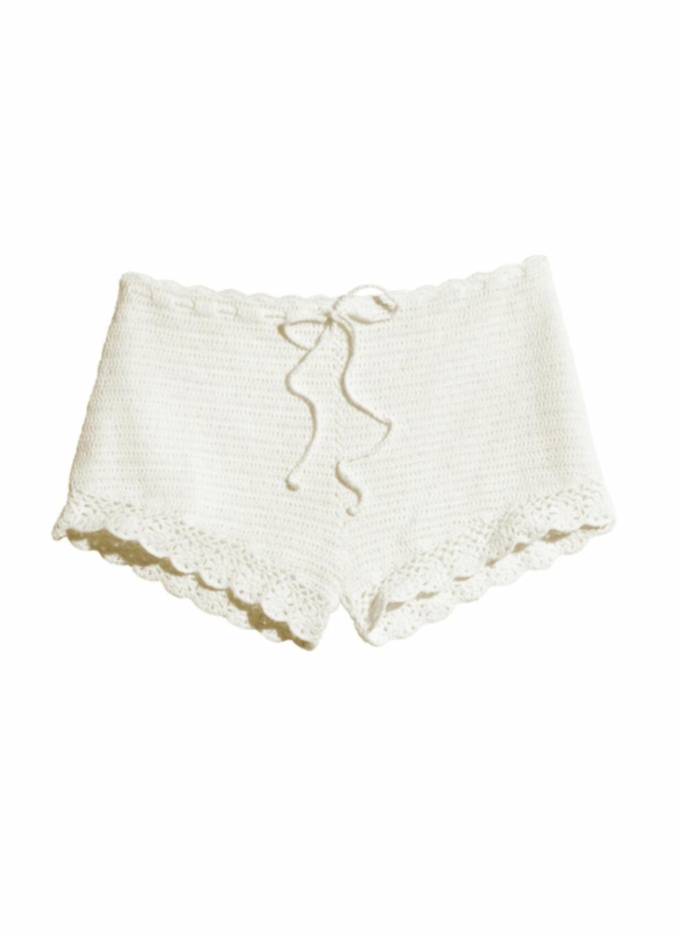 Heklet shorts (kr.249). Foto: H&M