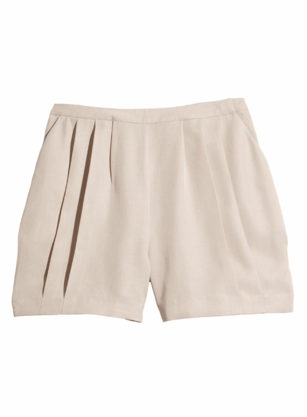 Pudderrosa shorts (kr.149). Foto: H&M