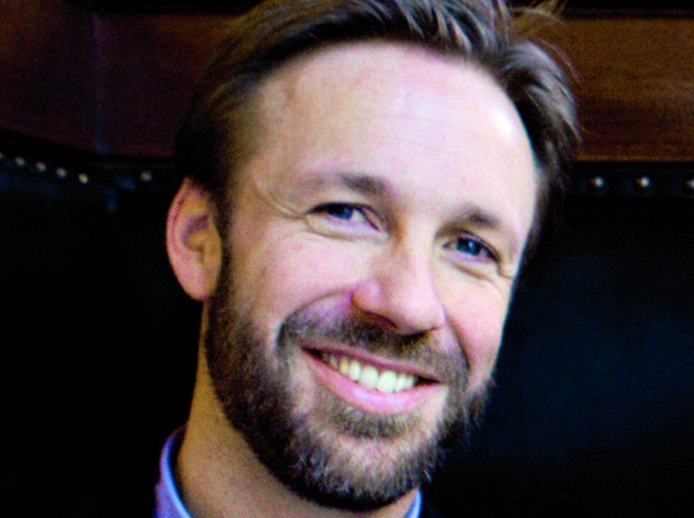 HAN KOMMER! Thomas Giertsen er konferansier under KK-dagen 2011. Foto: Nina Hansen/AllOverPress