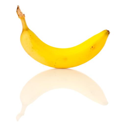 SUNT OG GODT: Banan er bra for blodsukkeret og motvirker blant annet stress.  Foto: Panther Media