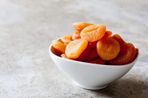 APRIKOS: Å spise litt aprikos kan være med på å hindre utviklingen av nyrestein.