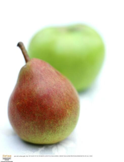 KOLESTEROL: Pærer inneholder mye kostfiber, som hjelper til med å «skylle ut» dårlig kolesterol.