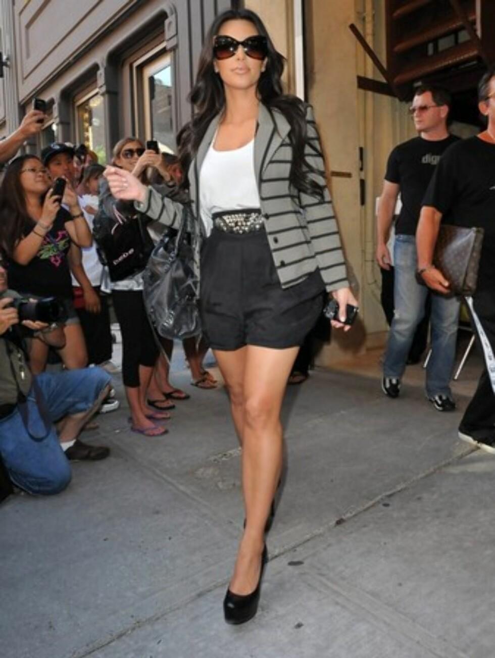 Realitykjendis Kim Kardashian. Foto: All Over Press