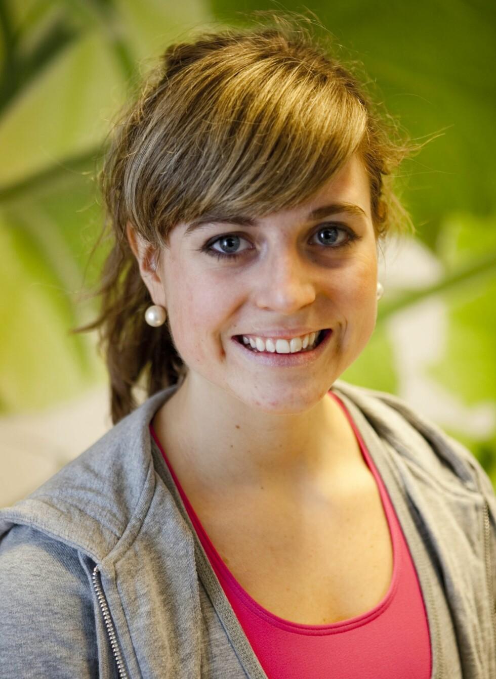 <strong>INSTRUKTØREN:</strong> Vilde Berntsen er gruppetreningsansvarlig på Treningshuset i Oslo. Hun har en bachelor fra Den Norske Balletthøyskolen, Fitnessutdanning fra Norges Idrettshøgskole, samt utdanning fra Baardar danseakademi. I tillegg har hun jobbet som instruktør i syv år.   Foto: Per Ervland