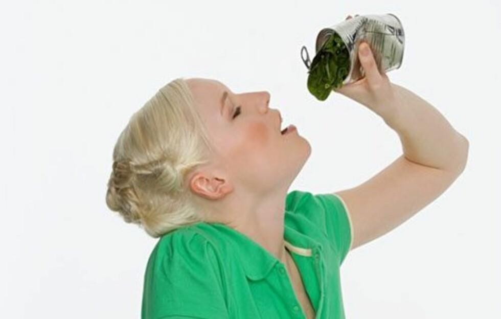 IKKE USUNT: Det har lenge vært diskutert hvorvidt hermetikk, eller boksmat, er sunt eller ikke. En ny studie viser imidlertid at mat på boks slett ikke er så usunt som mange skal ha det til, og at det i noen tilfeller faktisk kan være sunnere enn ferskvaren.