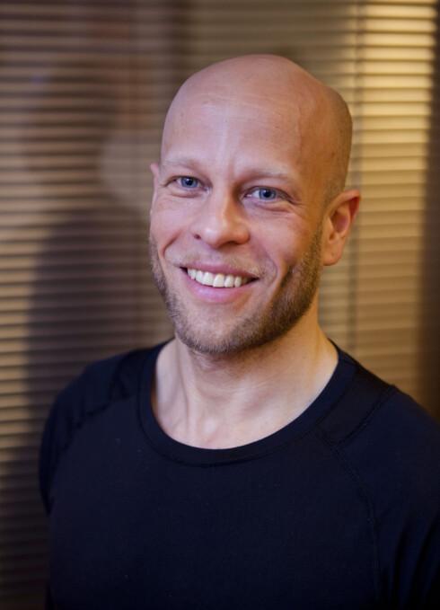 Kettlebellinstruktør Matthew Griffiths (37). Foto: Per Ervland