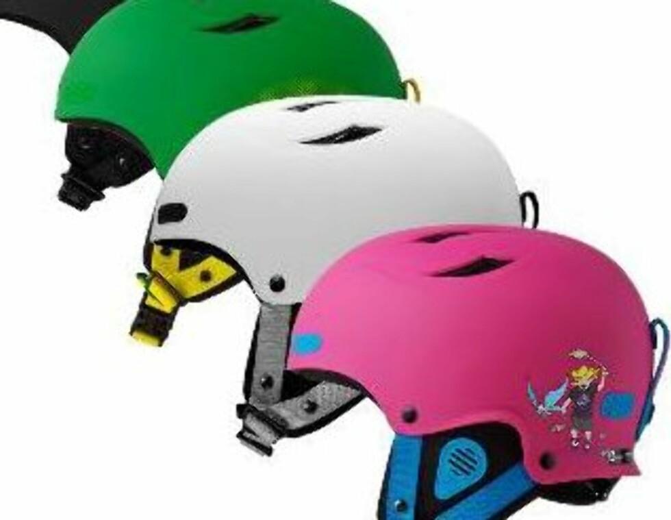 <strong>SWEET RAMBLER:</strong> En fargerik og spenstig hjelm med karbonfiberforsterket skall med gode ventilasjonsmuligheter (kr.1399/Antonsport.no) Foto: Produsenten
