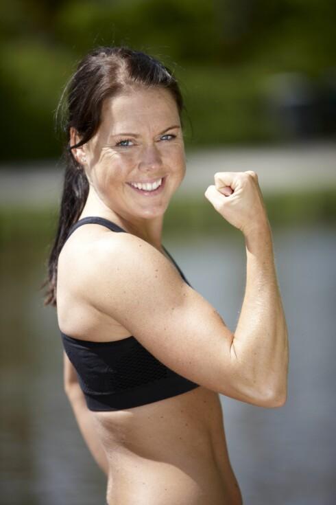 BYGGER MUSKLER: Protein er  en viktig faktor i kroppens fettforbrenning, fordi det bygger muskler. Foto: Colourbox