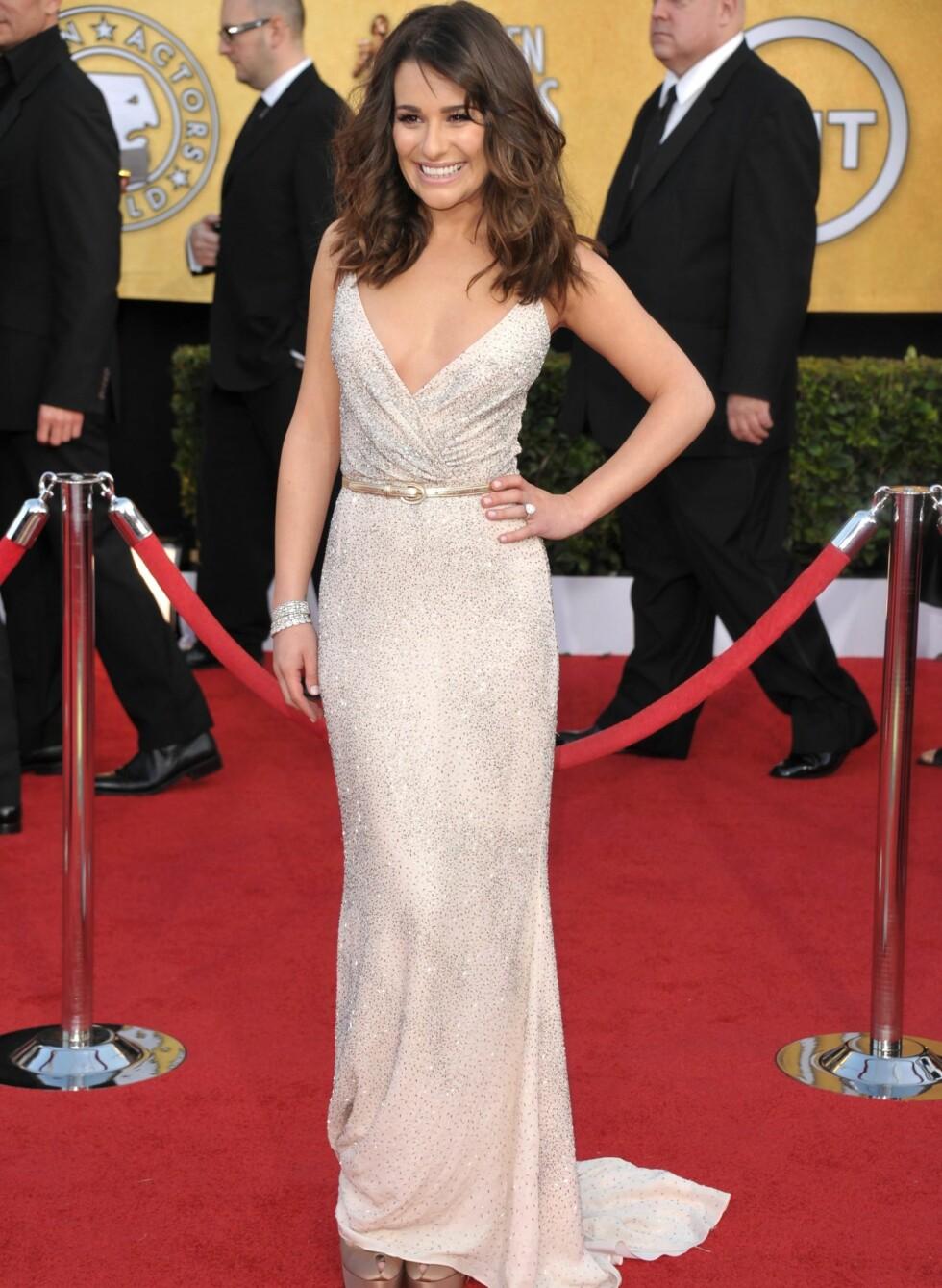 Lea Michele. Foto: All Over Press