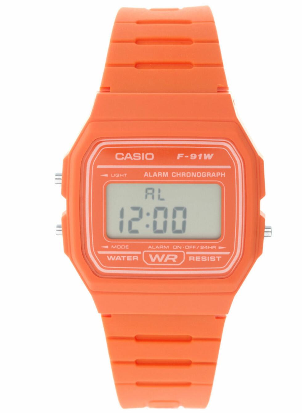 Cirka kr 200, Casio/Asos.com.