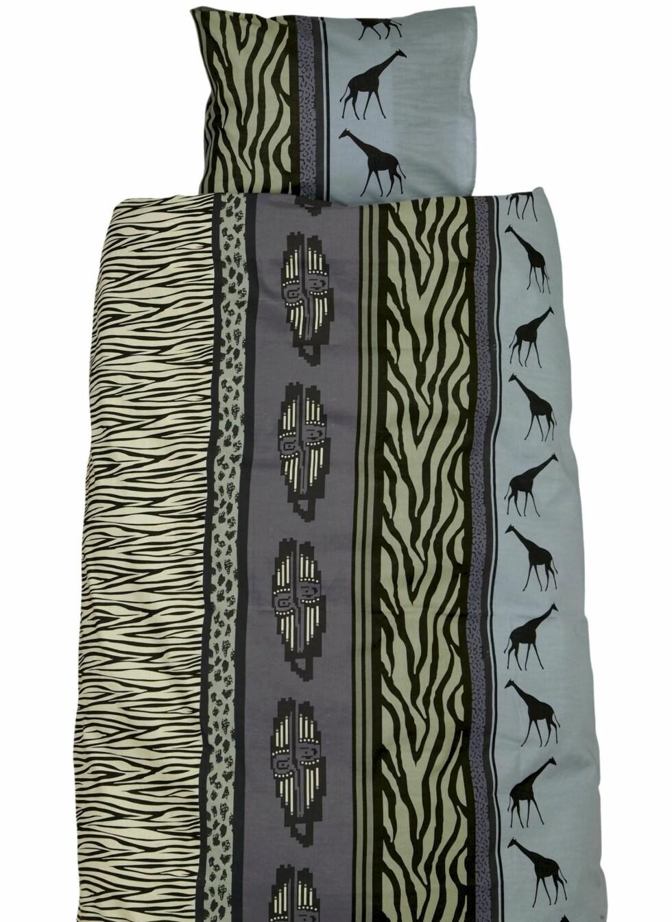 Sengesett med afrikanskinspirert mønster, Ellos, kr 199.  Foto: Produsenten