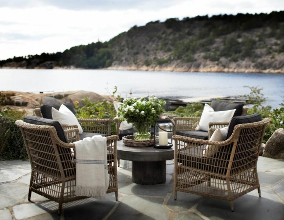 Også utemøblene skal værer inspirert av naturen.  Foto: Slettvoll