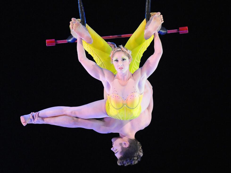 Du trenger kanskje ikke bli like flink som artistene i Cirque du Soleil, men det er ikke tvil om at det de gjør har positiv effekt på kroppen. Foto: All Over Press