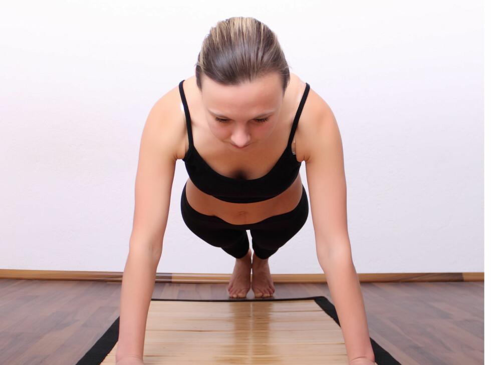 Øvelser som er enkle, men som allikevel styrker og toner musklene dine, også de små musklene.  Foto: Colourbox.com