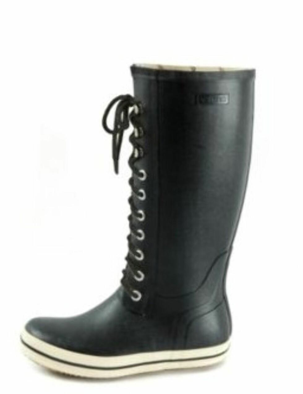 Høye støvler med snøring fra Viking (kr.499/Intersport). Foto: Produsenten