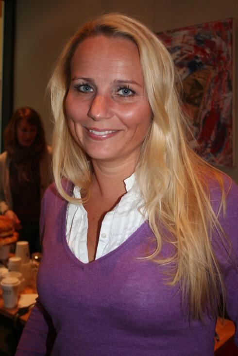 Hanna Bergholm, markedssjef i Norden for Match.com. Foto: Tone Ra Pedersen