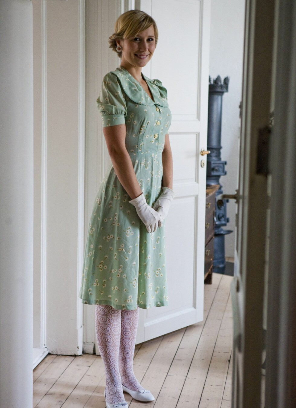 Denne kjolen kommer fra den Fretex-lignende bruktkjeden Humana i Malmø, og kostet 130 svenske kroner. Foto: Per Ervland