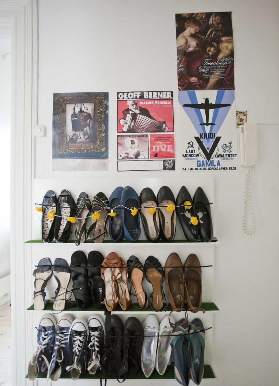 Flotte sko må vises fram.  Foto: Per Ervland