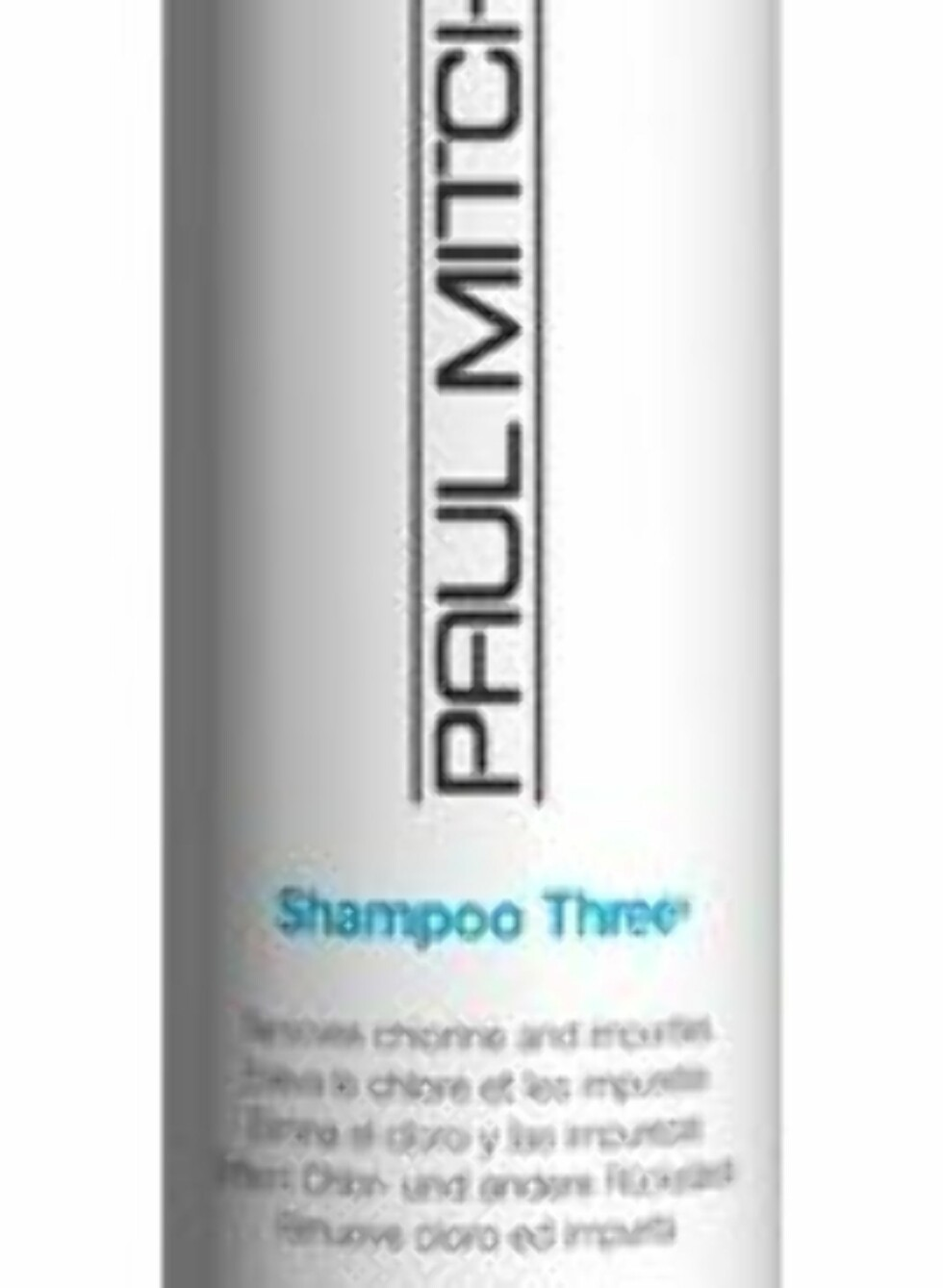 Paul Mitchell Clarifying Shampoo Three er en dyptrensende sjampo for fjerning av styling- og finishingprodukter, veil. kr 224. Foto: Produsenten
