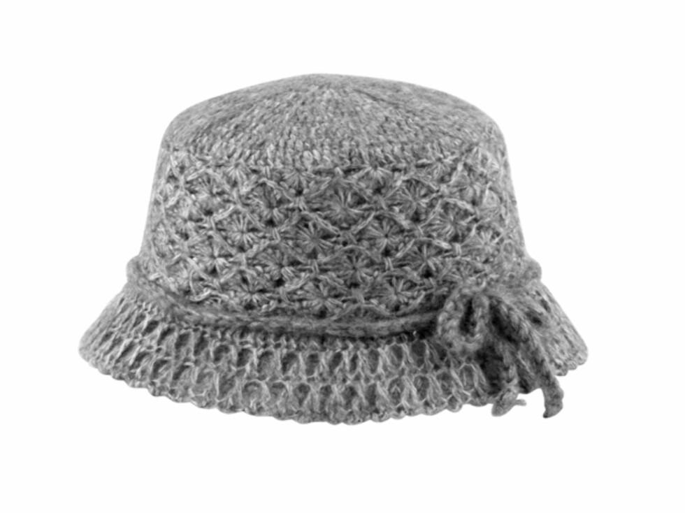 Bøtteformet hatt (kr.129/Indiska). Foto: indiska.no