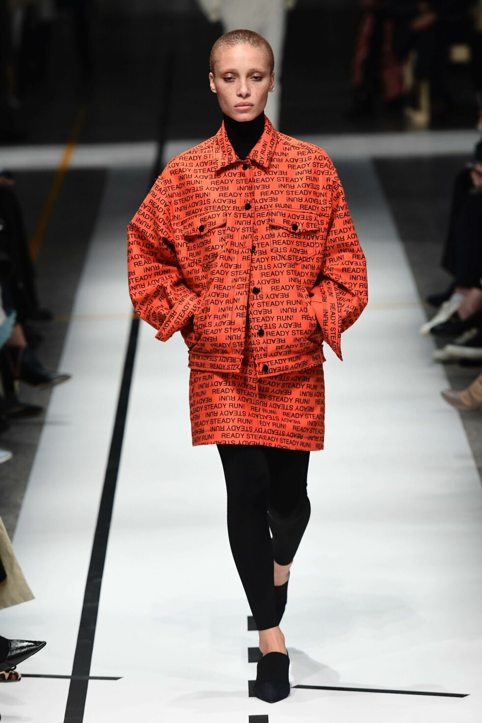 SPORTMAX AW17 Foto: AFP