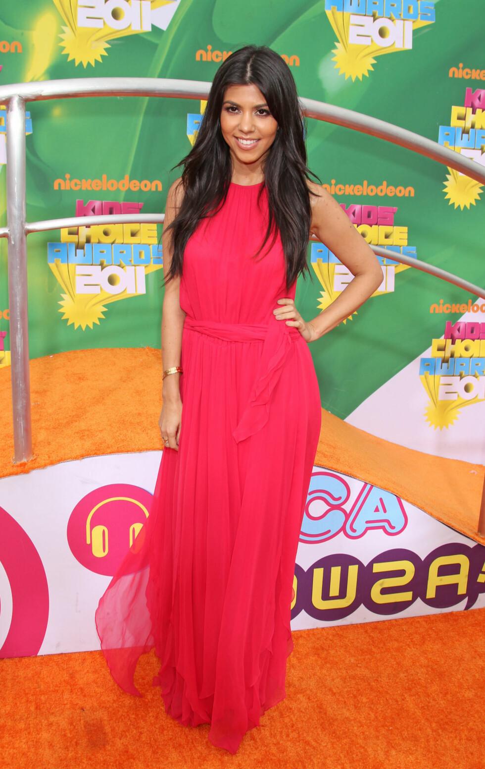 2011: Kourtney Kardashian Foto: Pa Photos
