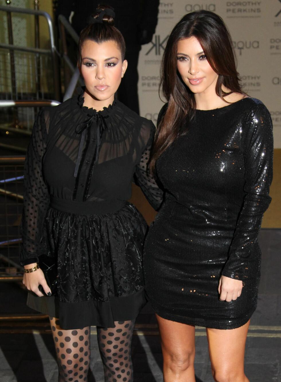 2012: Kourtney Kardashian Foto: Ap