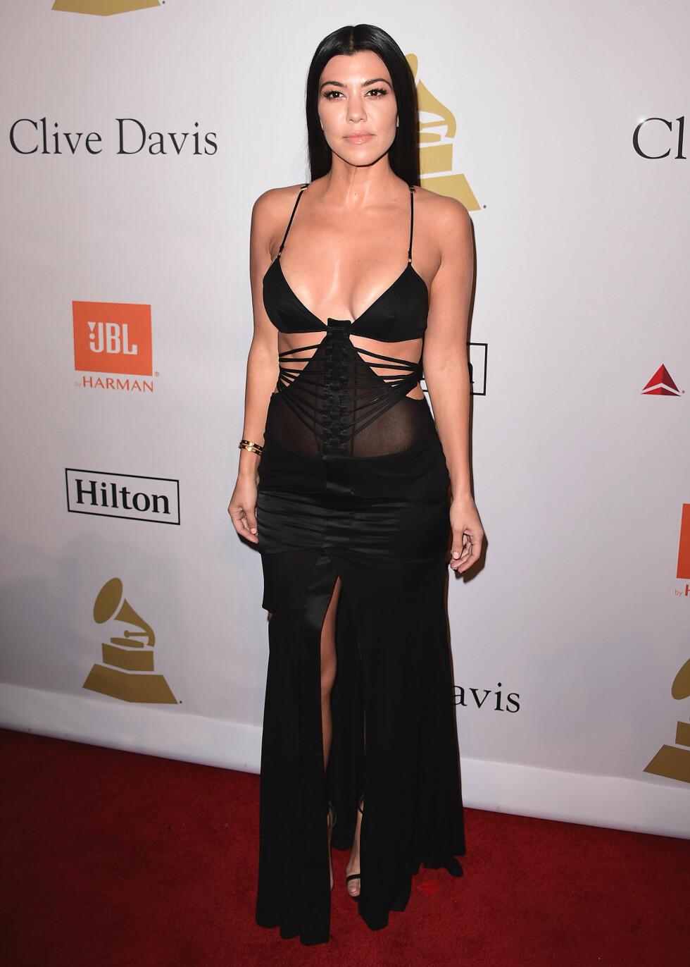 2017: Kourtney Kardashian Foto: SipaUSA