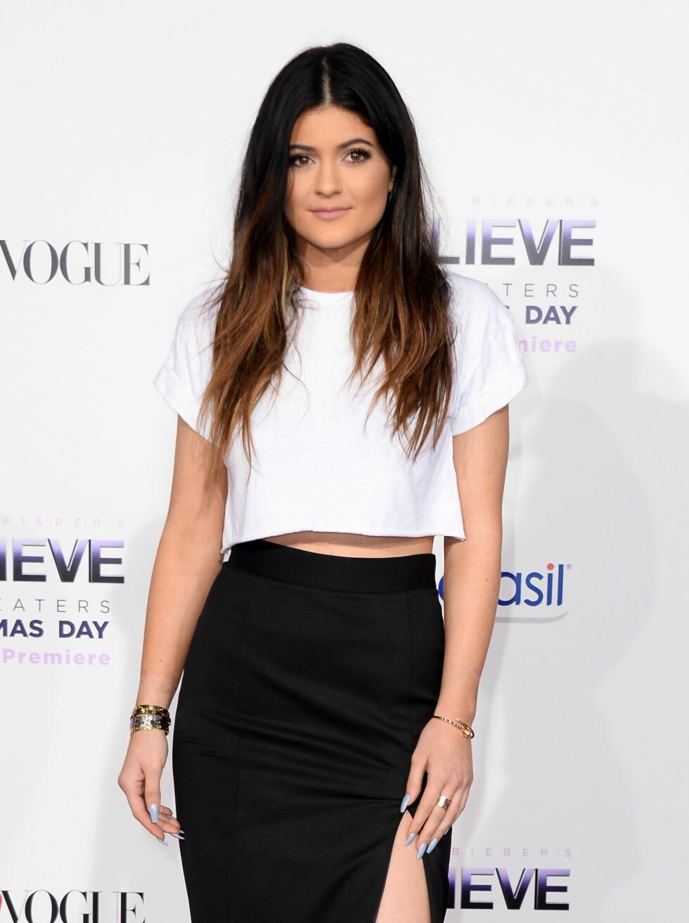 2013: Kylie Jenner Foto: Afp