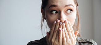 Har du små illeluktende klumper i munnen? Da er det mulig du har mandelstein