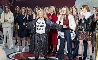 Munthe og Lala Berlin mikset mote og politikk