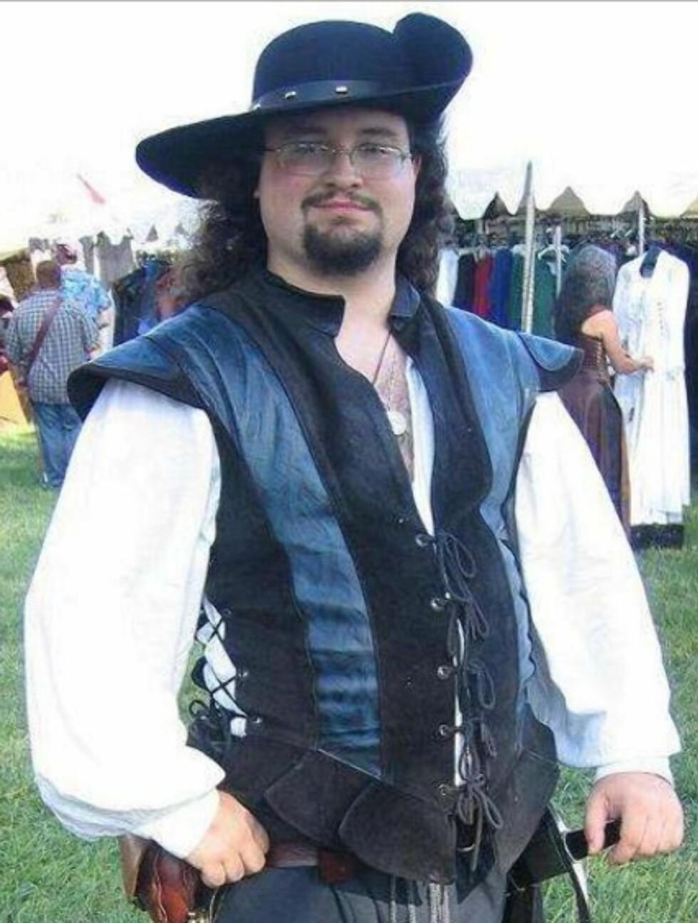 FORLOT RAMPELYSET: Josh Byrne spilte Brendan Lambert. Dette bildet er lånt fra hans MySpace-side. Foto:  Foto: Skjermdump MySpace