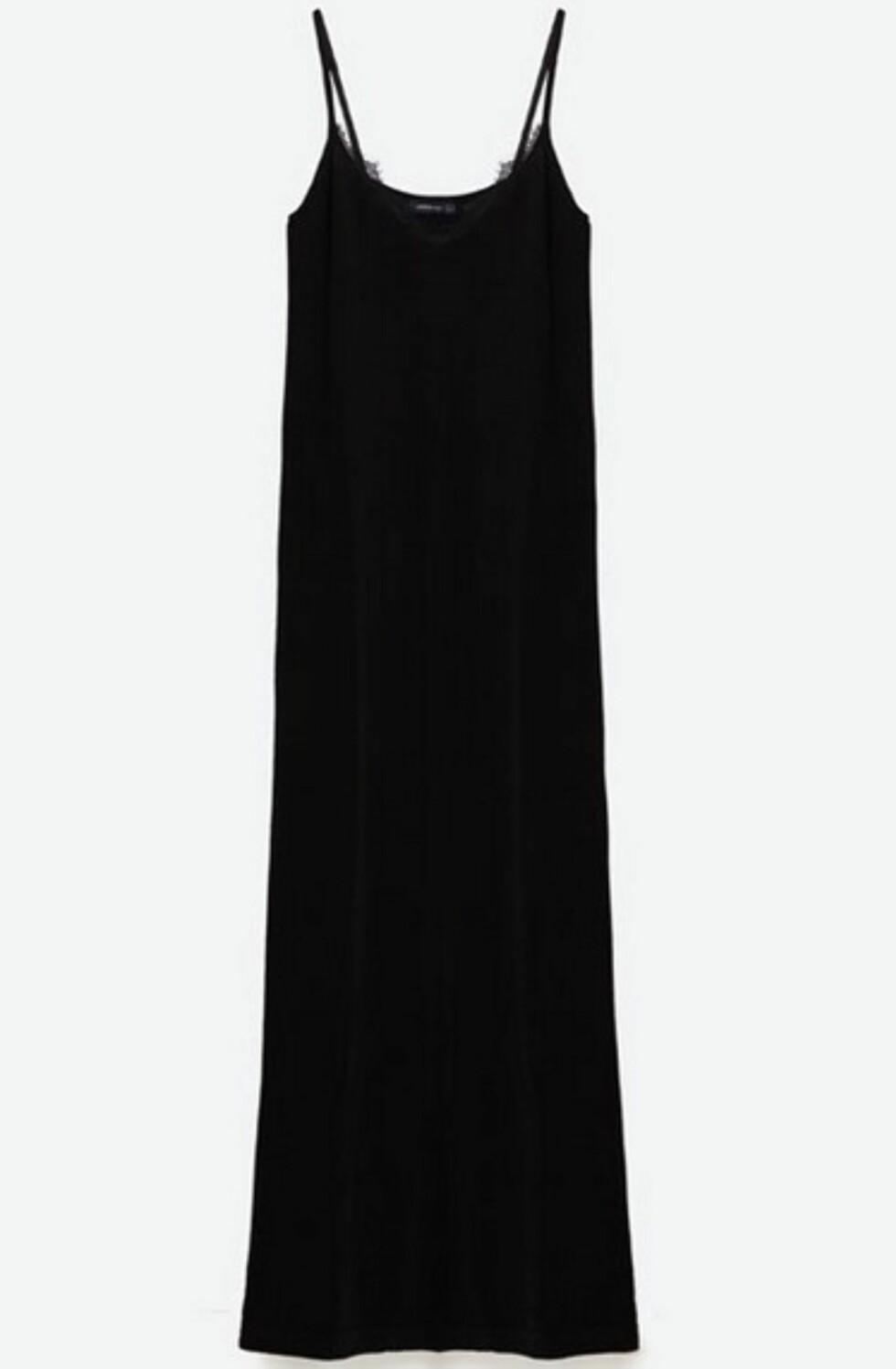 Kjole fra Zara, kr 559. | | http://www.zara.com/no/no/dame/kjoler/lang-kjole-i-undert%C3%B8ystil-c269185p3956263.html