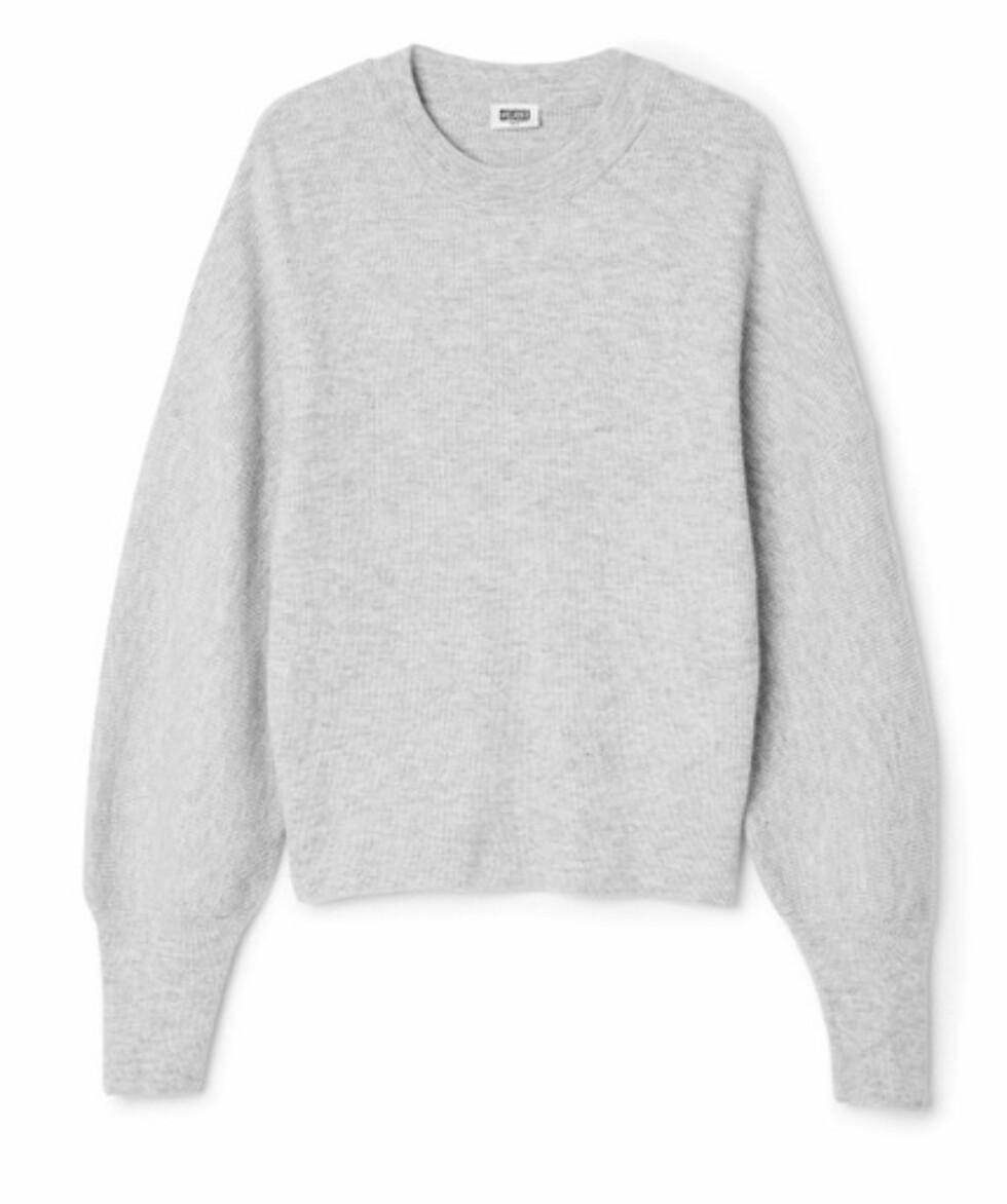 Genser fra Weekday, kr 500. | | http://shop.weekday.com/gb/Womens_shop/Knitwear/Trish_Sweater/542442-8850758.1#c-51081